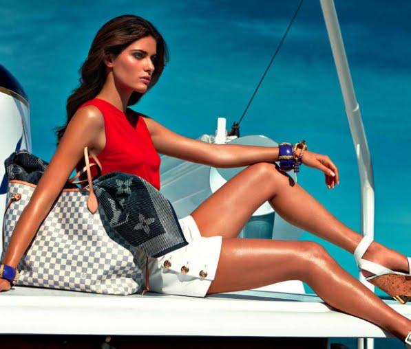 Louis Vuitton Neverfull Damier Azur