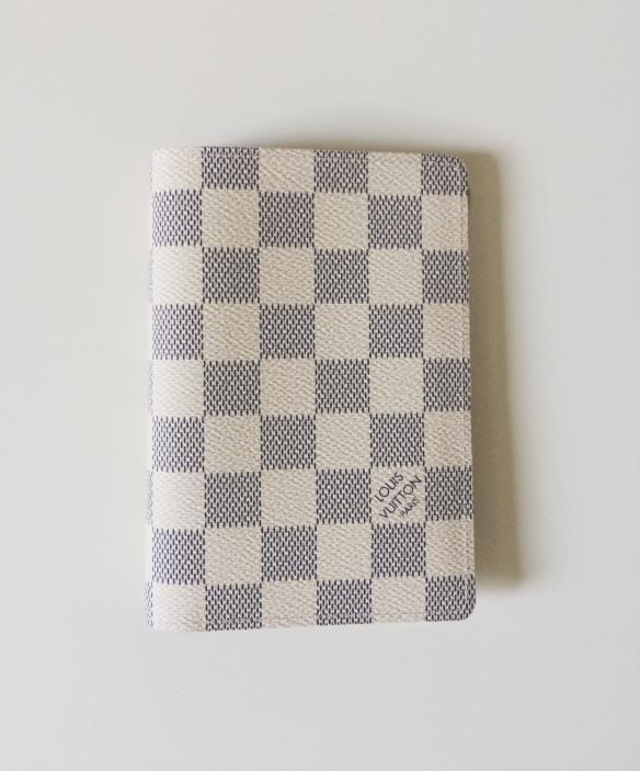 Couverture Passeport Louis Vuitton Collection Damier