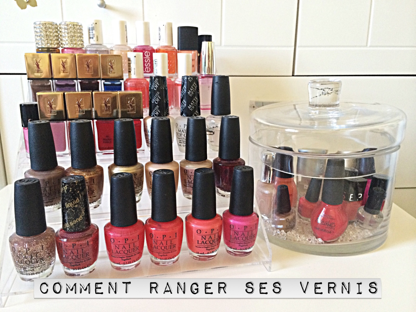 comment ranger ses vernis ongles dans mon sac de fille. Black Bedroom Furniture Sets. Home Design Ideas