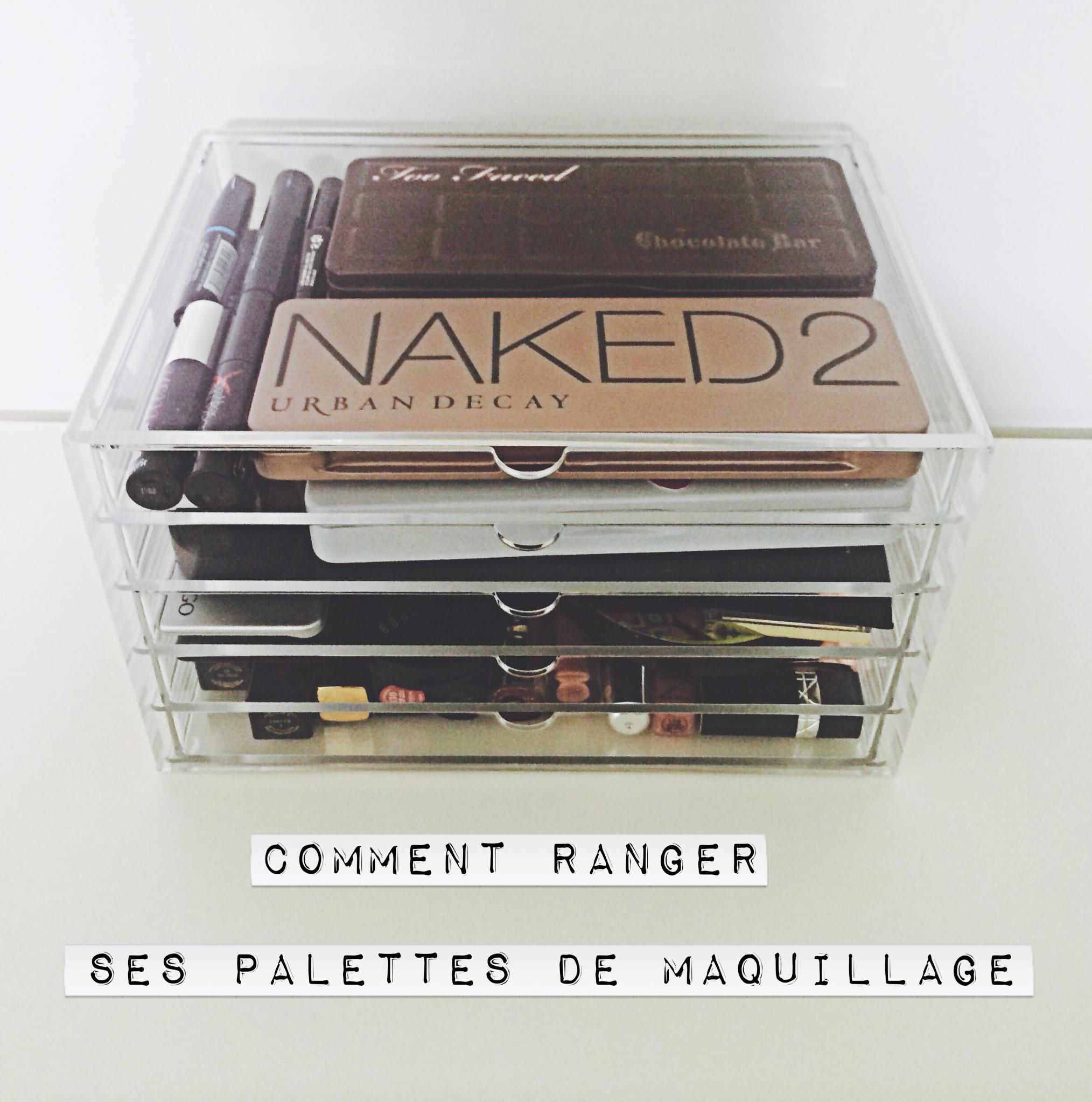 comment ranger ses palettes de maquillage dans mon sac. Black Bedroom Furniture Sets. Home Design Ideas