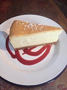 Le Frog Révolution place de la Bastille à Paris le cheesecake