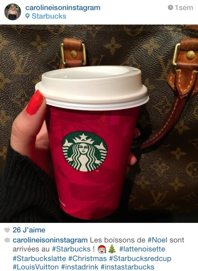 Instagram Starbucks Noel