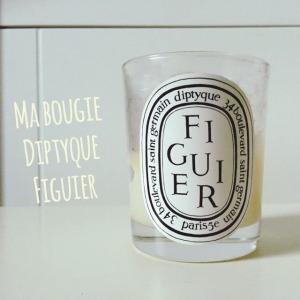 Ma bougie Diptyque Figuier