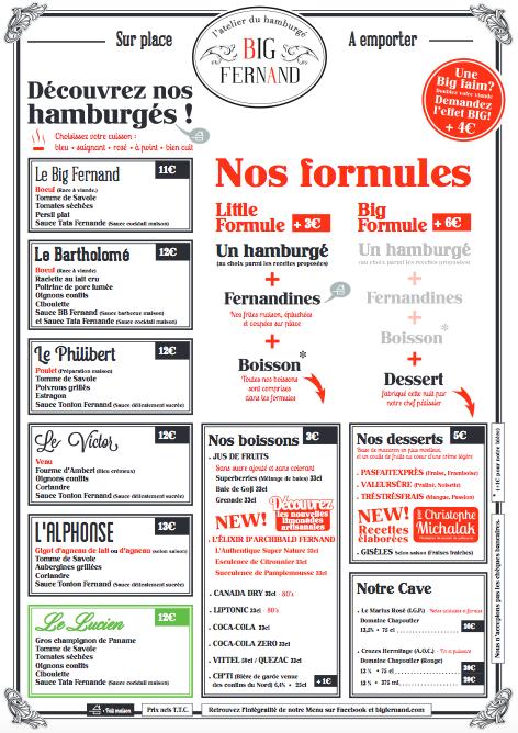 Big Fernand Issy Les Moulineaux Hamburgé Hamburger