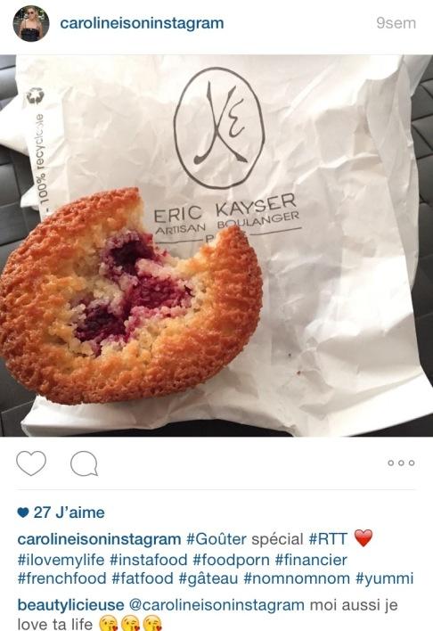 Eric Kayser Financier Instagram