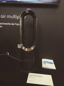 Ventilateur Dyson AM05 HOT+COOL BLACK achat foire de paris