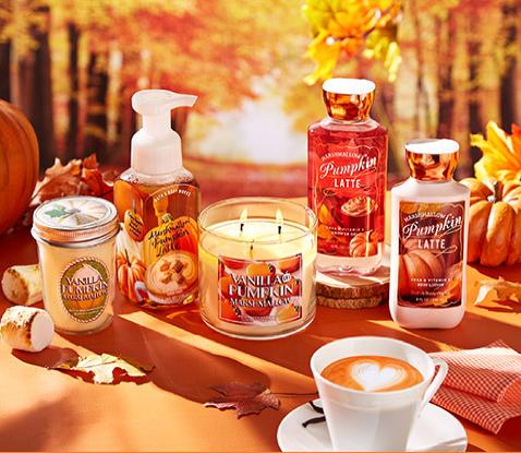 Sweet Cinnamon Pumpkin Bath and body works