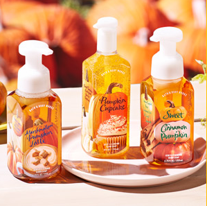 Sweet Cinnamon Pumpkin handgel bath & body works