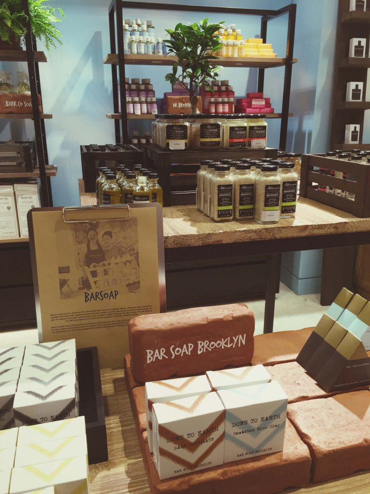 Exposition Brooklyn Rive Gauche Bon Marché Bar Soap Brookyin Bar Soap