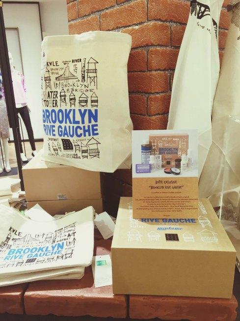 Exposition Brooklyn Rive Gauche Bon Marché beauty box Khiel's