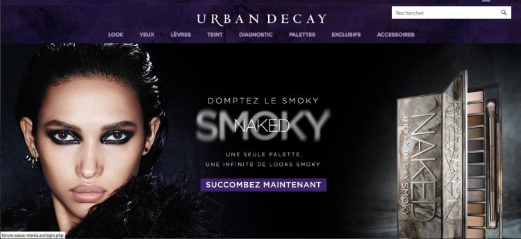 www.urbandecay.fr naked smoky