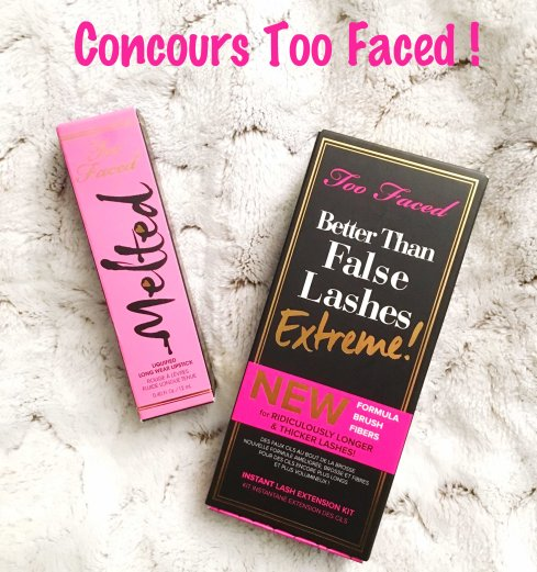 Concours Too Faced Melted Marshmallow Better Than False Lashes Extreme