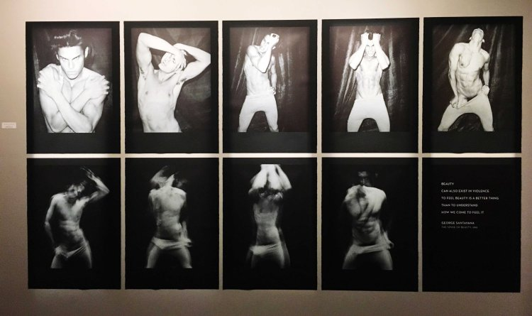 Baptiste Giabiconi Exposition Karl Lagerfeld A visual Journey