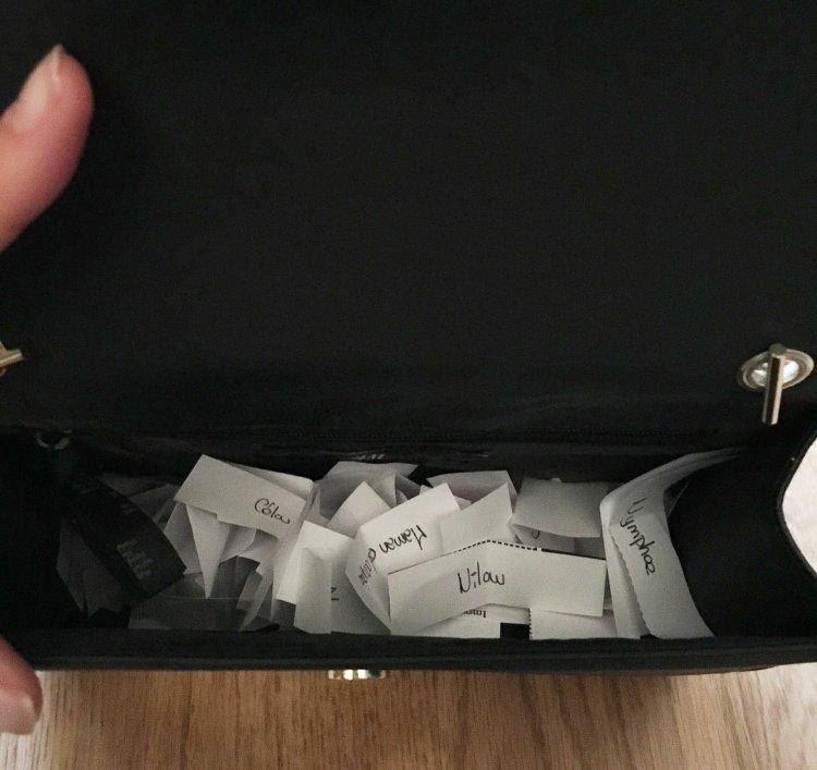 Concours too faced dans mon sac de fille résultats sac H&M