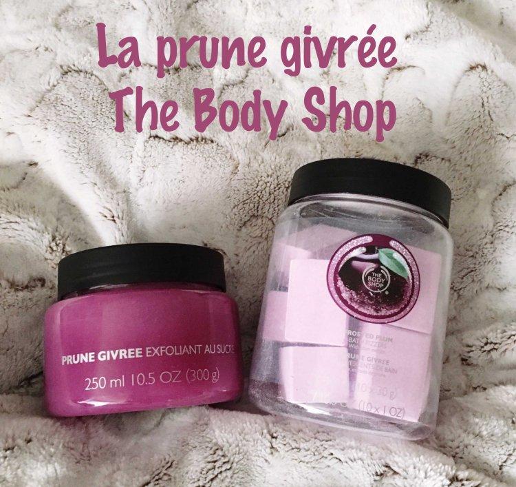 Bain senteur prune givrée The Body Shop