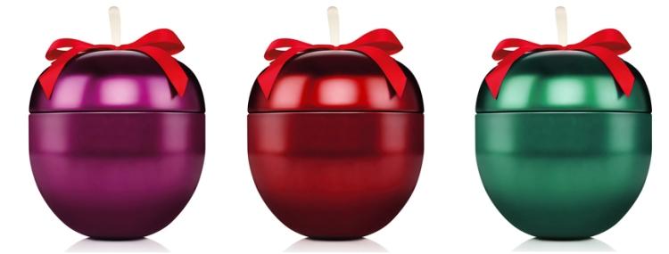 The Body Shop coffrets Noël pomme givrée