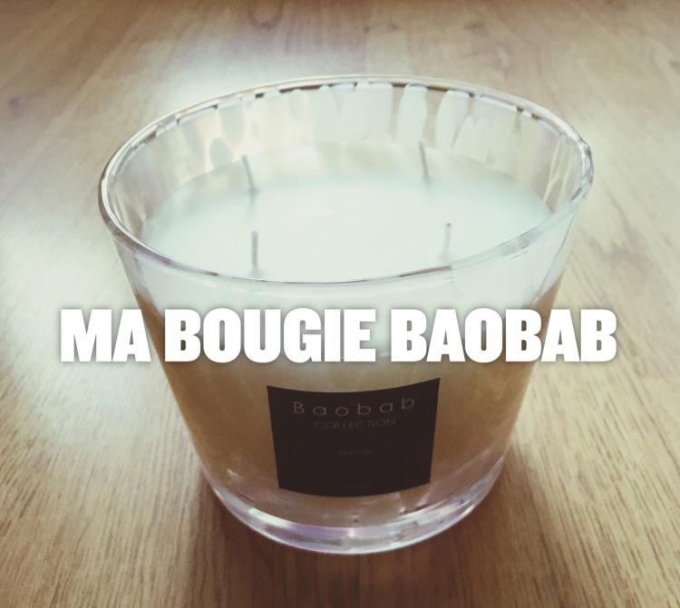 Bougie perle Baobab
