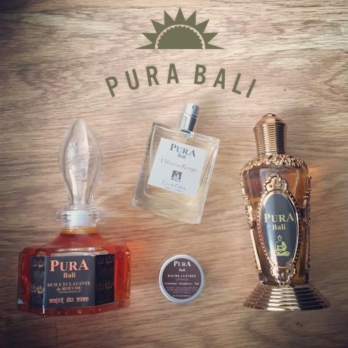 Pura Bali soin du corps parfum interieur avis