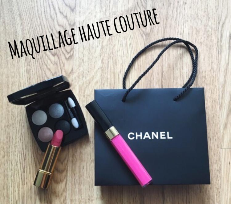 Les sautoirs de Coco maquillage makeup Chanel perles