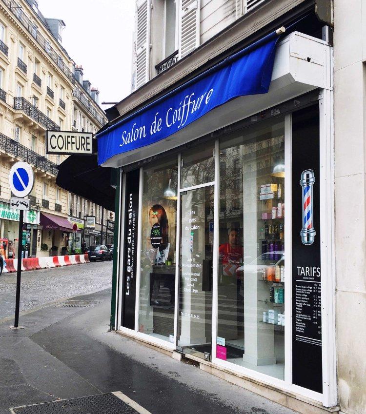 Les Gars du Salon Salon de Coiffure Botox capillaire soin Paris