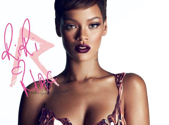 Rihanna Mac makeup ad maquillage pub avis blog