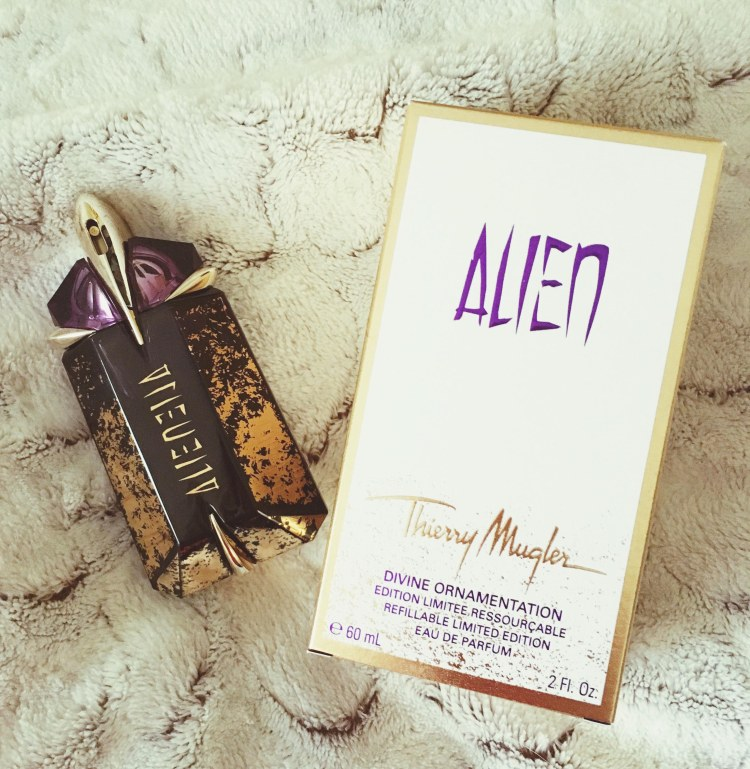 Alien Divine Ornamentation Thierry Mugler parfum avis blog luxe