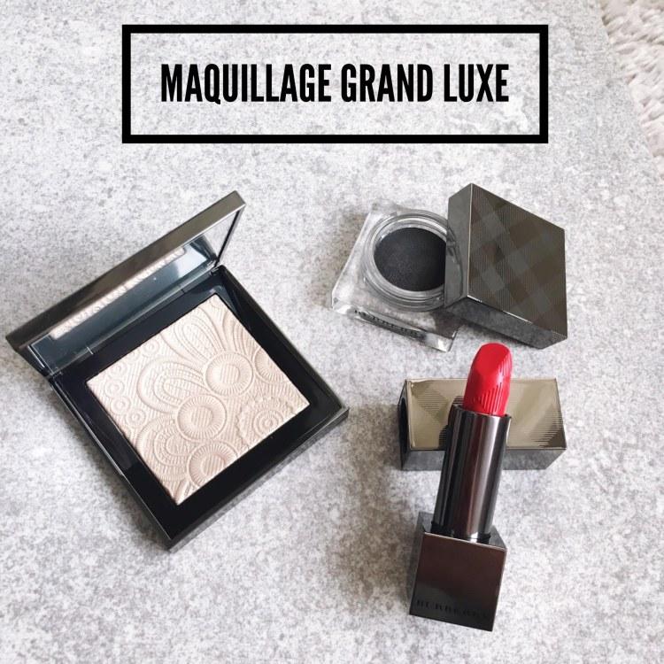Burberry maquillage Printemps été palette illuminatrice rouge à lèvres fard à paupière avis blog