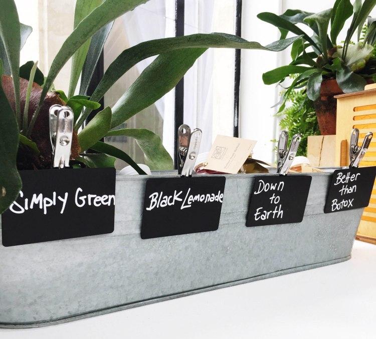 Wild & the Moon jus de fruits légumes vegan organic bio simply green black lemonade down to earth better than botox avis