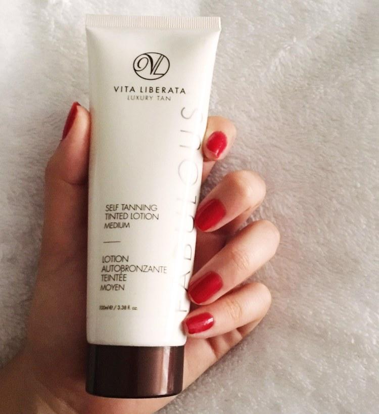 Vita Liberata Self Tanning Tinted Lotion Moisture Autobronzant avis blog autobronzant hydratant