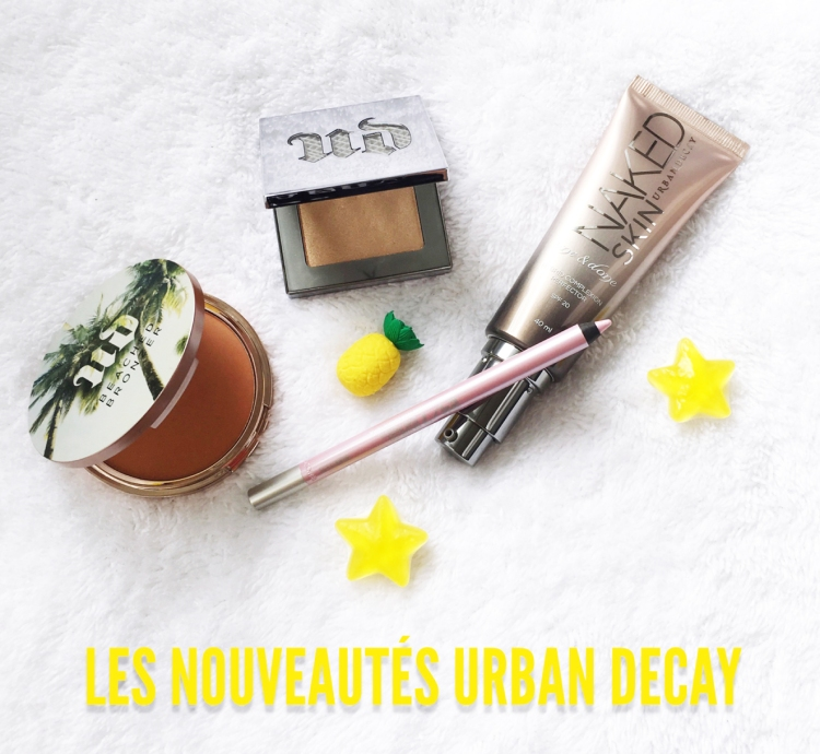 Urban Decay été Naked Skin One & Done Beach Bronzer enlumineur Afterglow crayon yeux 24h/7