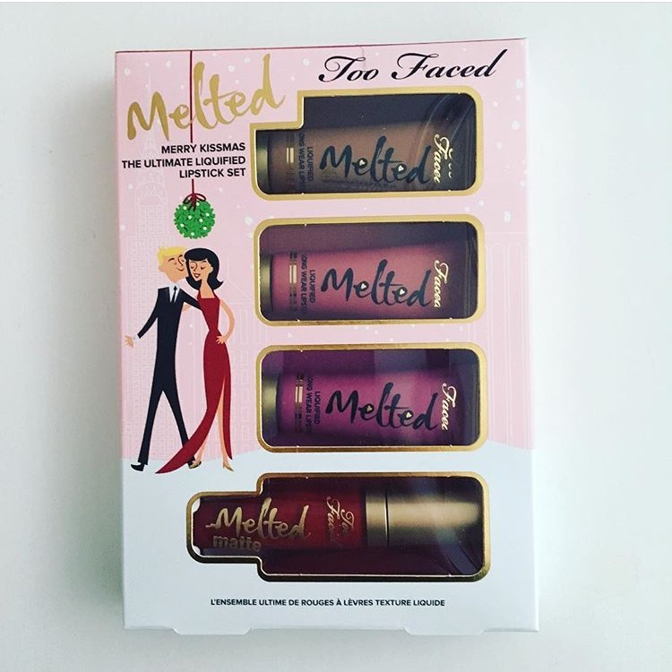 Too Faced Melted Merry Kissmas Christmas in NY Collection Noël date sortie blog