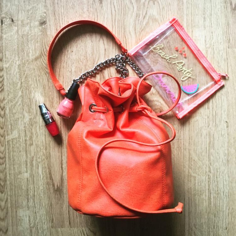 Magnethik sac bourse vegan écologique made in france tendance mode fashion orange pop