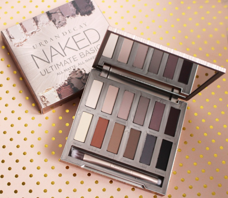 Urban Decay Naked Ultimate Basics palette fard mat avis blog