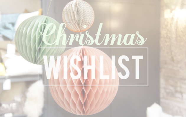 Wishlist Noël 2016 blog