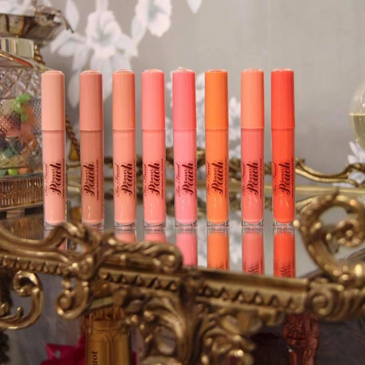 Sweet Peach Creamy Lip Oil Too Faced avis blog