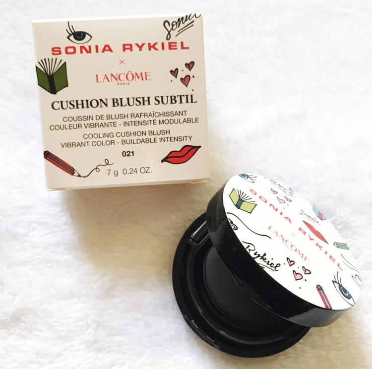 Lancôme X Sonia Rykiel collection maquillage cushion blush subtil blog