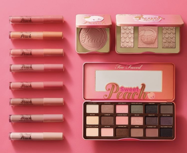 Sweet Peach Glow Papa don't Peach Sweet Peach Creamy Lip Oil Too Faced 2017 avis blog france