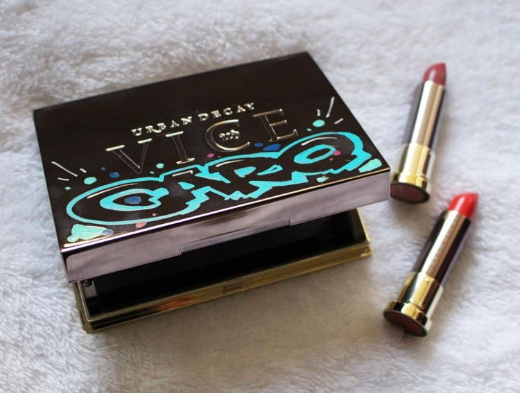 Palette Vice Lipsticks rouge à lèvres urban decay