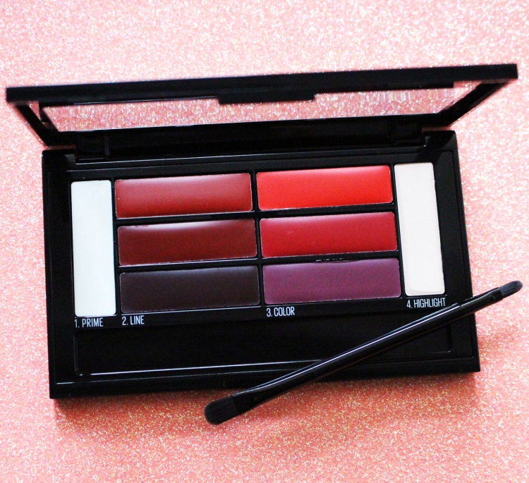 Palette Color Drama Lip Contour Maybelline Lip-Contouring Ombre Lips avis blog