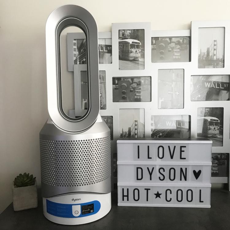 Dyson Pure Hot + Cool Link purificateur air ventilateur chauffage avis blog