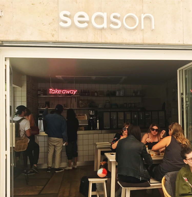 Mon avis sur Season restaurant parisien healthy et hyper tendance blog