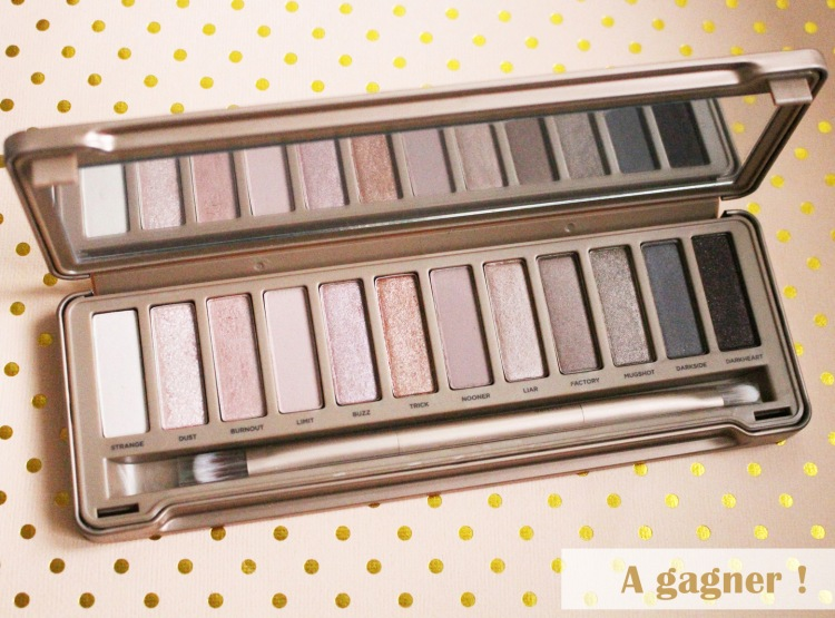 concours Naked 3 urban decay